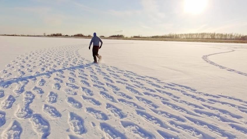 Image result for images footprints in the snow